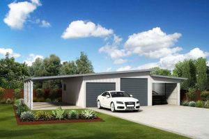double-skillion-triple-garage-with-awning-render
